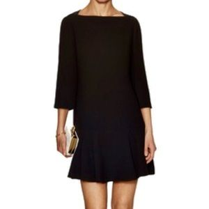 SALE 😍🎉 Kate Spade Black Crepe Flounce Dress